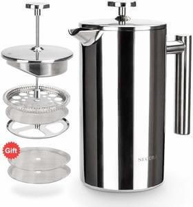 best stainless steel french press coffee maker