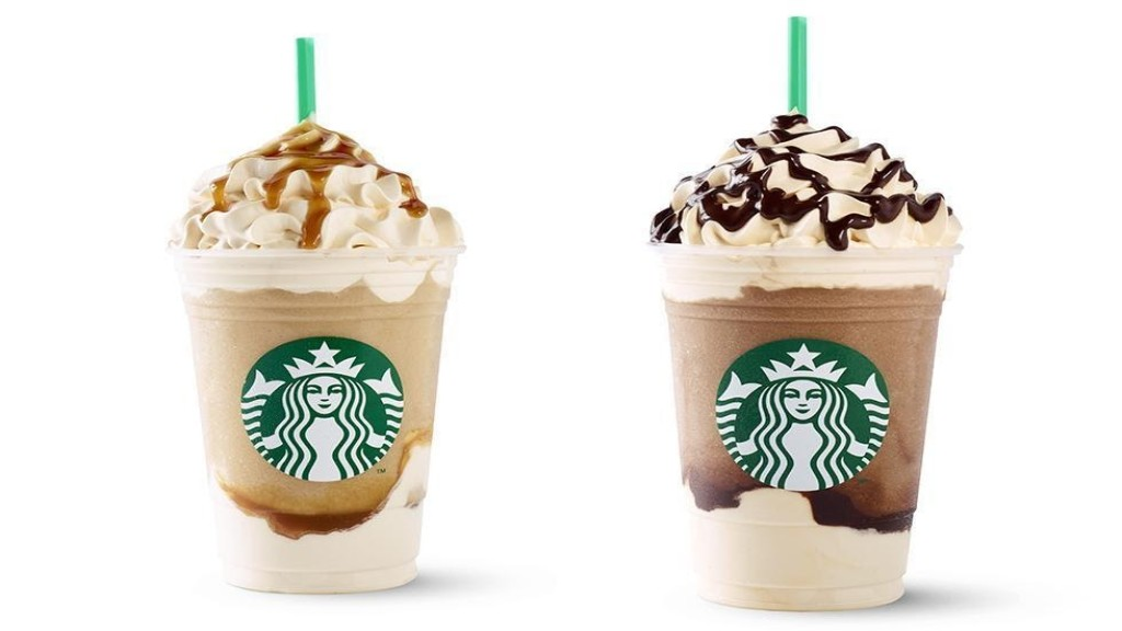 which frappuccinos have coffee